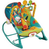 Шезлонг, кресло качалка Сафари Fisher Price!