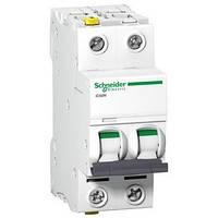 Автоматический выключатель Schneider Acti9 iC60N 2Р 50А C