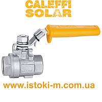 """Шаровый кран из нержавеющей стали ВВ 1/2"""" для систем работающих на солнечной энергии Caleffi Solar 240, фото 1"""