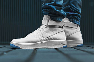 """Кроссовки Nike Air Force 1 Ultra Flyknit Mid """"White"""""""