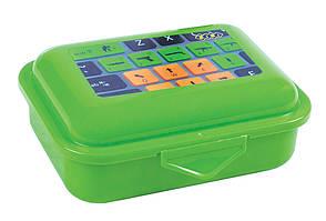Контейнер для їжі ZiBi 280мл ланчбокс клавіатура салатовий ZB.3050-15