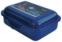 Контейнер для еды, 138x104x54мм, синий