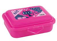 Контейнер для еды, 138x104x54мм, розовый