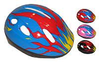Велошлем детский с механизмом регулировки SK-2974 (PU, пластик, PVC, р-р 3-7лет регул, цвета в ассортименте)