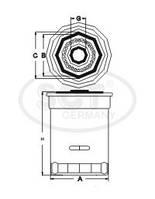 Масляный фильтр SK 813