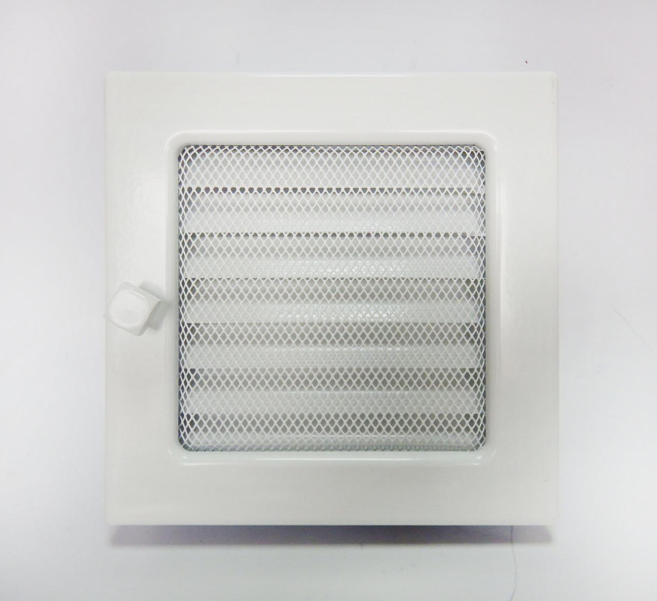 Решетка для камина с жалюзи, 22х22 см
