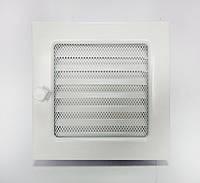 Решетка для камина с жалюзи, 22х22 см, фото 1