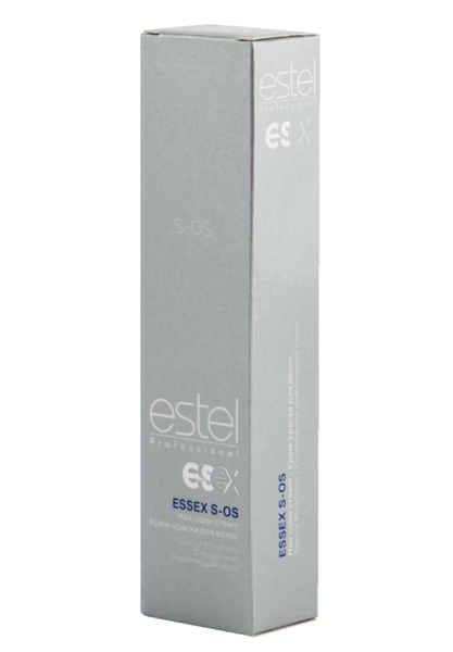 117 - Скандинавський ESTEL ESSEX S-OS Освітлююча крем-фарба для волосся 60 мл.