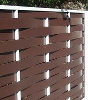 Забор из металлопрофиля «Тын»
