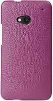 Melkco Snap leather cover for HTC Desire SV, purple (O2DSSVLOLT1PELC)