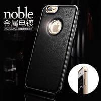 Bumper+Leather Back IPhone 6 Black