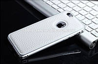 Bumper+Leather Back IPhone 6 White