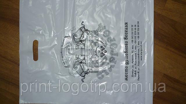 Пакеты с логотипами, нанесение на пакеты