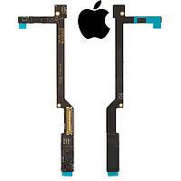 Шлейф для Apple iPad 2, питания дисплея, с компонентами, (версия 3G) (оригинал)