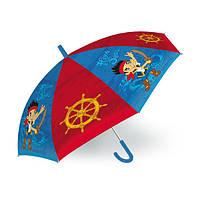 """289829 Зонтик детский Джек пират  """"JAKE I PIRACI Z NIBYLANDII"""" 45см."""