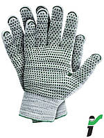 Перчатки защитные трикотажные, обладающие высокой устойчивостью к порезам, с односторонним напылениеRJ-DYNADOT