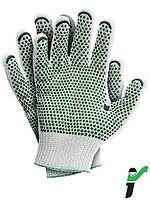 Перчатки защитные трикотажные с односторонним напылением RJ-HTV
