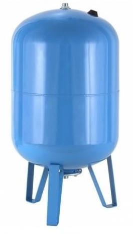 Гидроаккумулятор на 80 литров с Манометром, Вертикальный