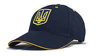 """Бейсболка """"Украина"""" ( Темно-синяя )"""