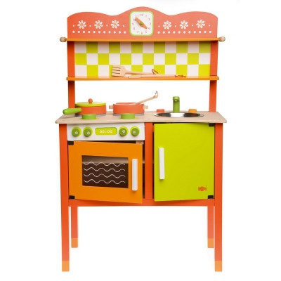 Кухня детская деревянная