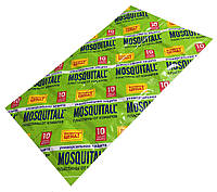 Пластины от комаров MOSQUITALL 10шт/уп Универсальная ЗАЩИТА от укусов насекомых
