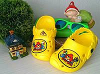 Обалденные и удобные кроксы Angry bird для ваших деток