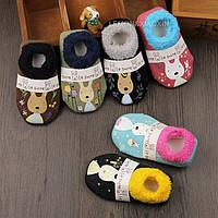 Носки для детей антискользящие с махровой подошвой Le Sucre