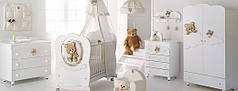 Комплект мебели для детской комнаты Baby Expert Abbracci by Trudi
