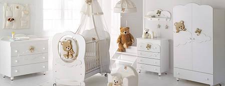 Комплект меблів для дитячої кімнати Baby Expert Abbracci by Trudi, фото 2
