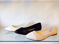Жіночі туфлі з острими передком
