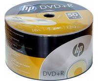 DVD+R диски для видео Hewlett-Packard Shrink 50