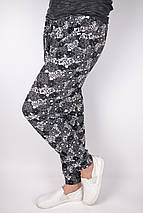 Летние тонкие брюки галифе с манжетом р. 44-52 (A840) | 12 пар, фото 3