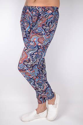 Летние тонкие брюки галифе с манжетом р. 44-52 (A840) | 12 пар, фото 2