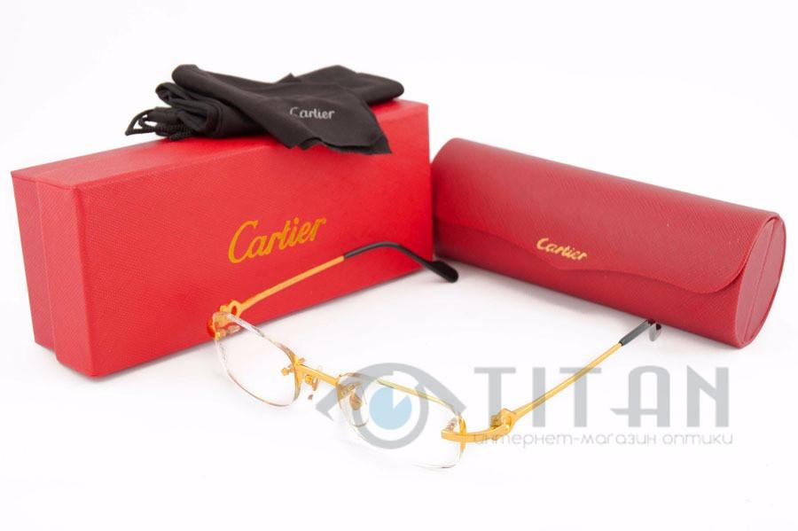 Оправа Cartier 29025 Gold Paris