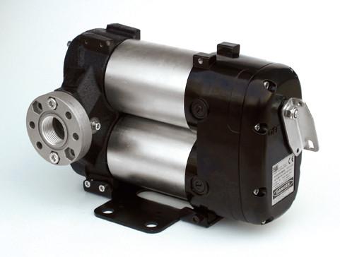 Flexbimec 6256 - Шиберный насос для перекачивания дизельного топлива 80 л/мин