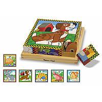 Кубики Melissa & Doug Домашние животные (MD3771)