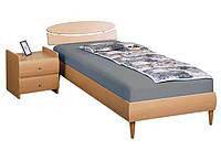 Кровать 0,8х2 односпальная Кэнди (МДФ)