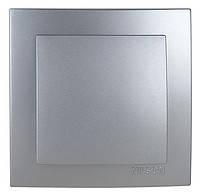 NILSON TOURAN серебро одинарный выключатель