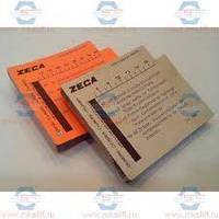 Комплект карточок для бензинового компрессометра