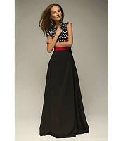 Женское Красивое платье в пол Азиза S<M<L