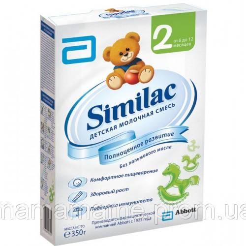 Молочная смесь Similac 2 (6-12 мес) картон 350 г