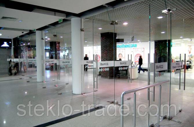 Цельностеклянные конструкции - ООО «Стекло-Трейд» в Днепре
