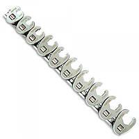 Набор разрезных ключей 3/8 односторонних 10шт 10-19мм Toptul GAAR1001