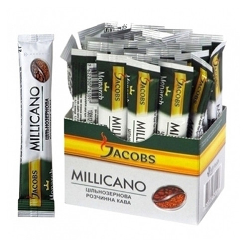 Кофе Jacobs Monarch Millicano в стиках 26 шт.