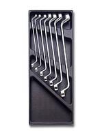 2424 T40-набор ключей накидных в ложименте,7 предметов