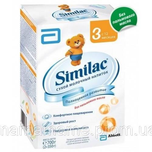 Молочная смесь Similac 3 (1-3 лет) картон 700 г