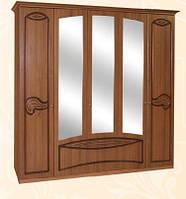"""Спальня , спальный гарнитур """"Тина"""" шкаф 5 д"""