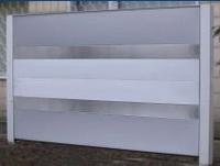 Заборы шумозащитные металлические