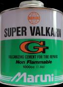 Maruni Super Valkarn (1000 мл) - Клей для покришок з пензлем