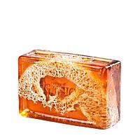 Глицериновое мыло куб ORG - Бамбук и Люфа, 100 г